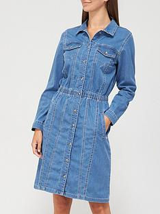v-by-very-clara-long-sleeve-denim-shirt-dress-mid-wash