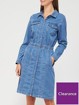 v-by-very-clara-long-sleeve-denim-shirt-dress-mid-wash