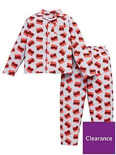 marvel-comicsnbspboysnbspflannel-pyjamas-grey