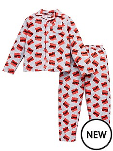 marvel-comicsnbspboysnbspflannel-pyjamas-grey