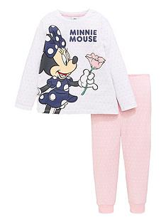 minnie-mouse-girlsnbsprose-long-sleeve-pyjamas-pink