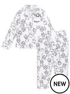 disney-the-aristocats-girlsnbspmarie-flannel-pjs-white