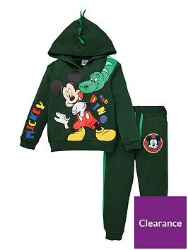 mickey-mouse-boys-mickey-mouse-2-piece-dinosaur-tracksuit-with-dino-hood-details-green