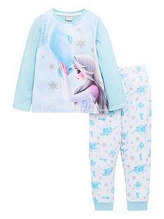 disney-frozen-girlsnbspelsa-and-nokk-long-sleeve-pjs-blue