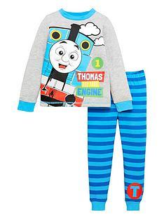 thomas-friends-boys-thomas-the-tank-engine-long-sleeve-pjs-grey
