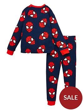 spiderman-boys-spiderman-all-over-print-long-sleeve-pjs-blue