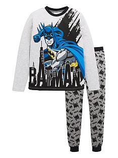 batman-boys-batman-long-sleeve-pjs-grey