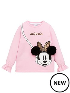 minnie-mouse-girlsnbspmock-bag-top-with-pom-pom-ears