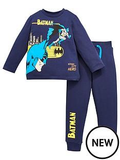 batman-boys-batman-2-piece-long-sleeve-top-amp-jogger-set