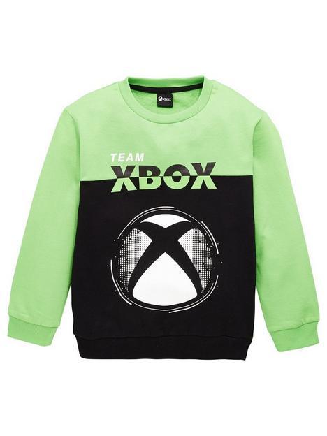 xbox-boys-x-box-colour-block-sweatshirt-multinbsp