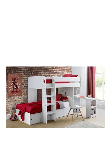 julian-bowen-eclipse-bunk-bed-white
