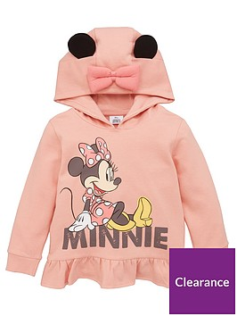 minnie-mouse-girls-minnie-mouse-frill-hoodie-with-ears-detail-pink