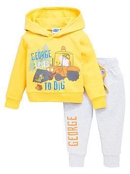 peppa-pig-boys-george-pig-loves-digging-2-piece-hoodie-and-jogger-set-multi