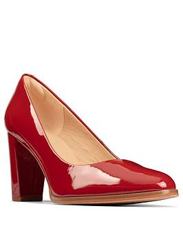 clarks-kaylin-cara-2-heeled-shoes-red-patent