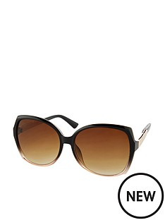 accessorize-sadie-two-tone-square-sunglasses-black
