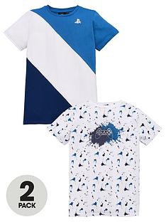 playstation-boysnbsp2-pack-t-shirts-multi