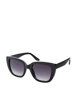Accessorize Accessorize Sarah Square Cat Eye Sunglasses - Black Picture