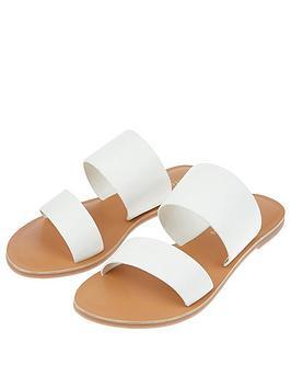 Accessorize Accessorize Mule Sandal - White Picture