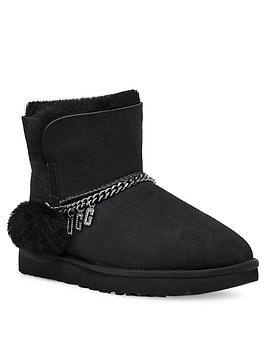 ugg-classicnbspcharm-mini-ankle-boot-black