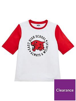 high-school-musical-girlsnbspglitter-print-east-high-t-shirt-redwhite