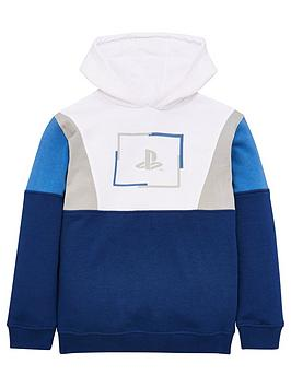 playstation-boysnbspcolour-block-hoodie-multi