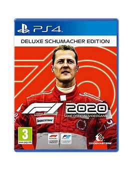 Playstation 4 Playstation 4 F1 2020 Deluxe Schumacher Edition Picture