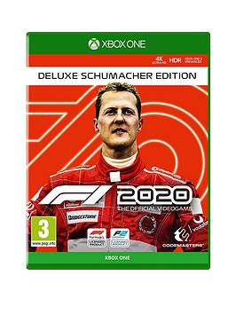 Xbox One Xbox One F1 2020 Deluxe Schumacher Edition Picture