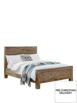 julian-bowen-hoxton-double-wooden-bed-solid-acacia