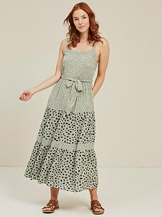 fatface-nita-double-spot-maxi-dress-pistachio