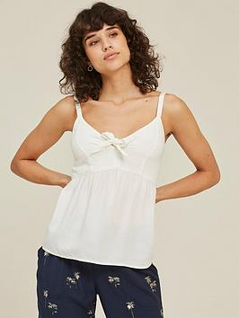 Fat Face Fat Face Tilda Cami - Ivory Picture
