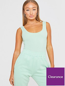 in-the-style-in-the-style-xnbspbillie-faiers-scoop-neck-bodysuit-sage