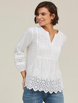 fatface-jessica-broderie-blouse-white