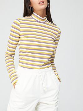 adidas-originals-comfy-cords-long-sleeve-t-shirt-purpleyellownbsp