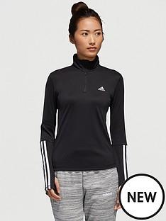 adidas-14-zip-long-sleeve-top-blacknbsp