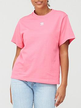 adidas-originals-trefoil-t-shirt-pink