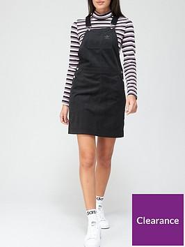 adidas-originals-comfy-cords-dungaree-dress-black