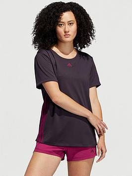 adidas-3-stripe-training-t-shirt-purplenbsp