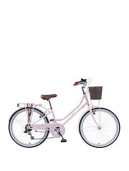 viking-viking-belgravia-girls-traditional-heritage-20-inch-wheel-6-speed-bike-pink