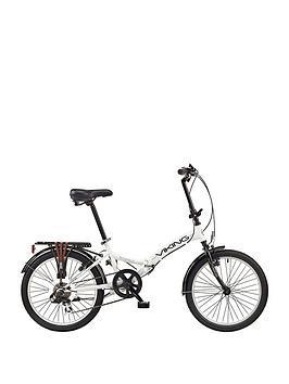 viking-viking-metropolis-20-inch-wheel-6-speed-folding-bike-white