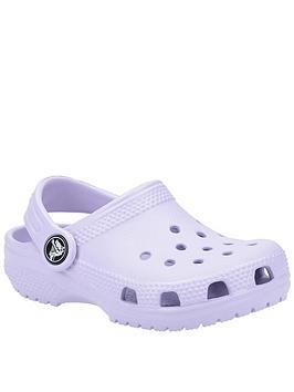 Crocs Crocs Girls Classic Slip On Clog - Lilac Picture