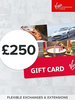 Virgin Experience Days Virgin Experience Days &Pound;250 Gift Card Picture