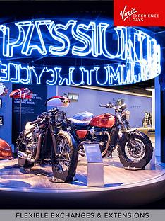 virgin-experience-days-triumph-motorcycle-factory-tour-with-coffee-and-cake-for-two-leicestershire