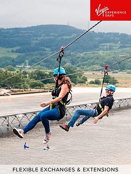 virgin-experience-days-zip-line-over-the-surf-lagoon-for-two-at-adventure-parc-snowdonia-wales
