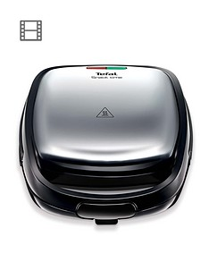 tefal-snack-time-sw341d40-sandwich-and-waffle-maker-stainless-steel
