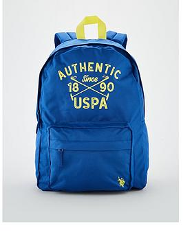 us-polo-assn-childrensnbspmallet-backpack-blue