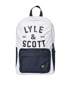 lyle-scott-graphic-logo-back-pack