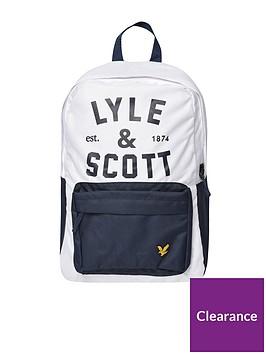 lyle-scott-graphic-logo-back-pack