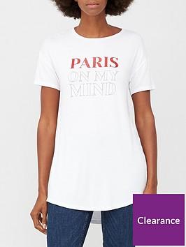 v-by-very-paris-on-my-mind-longline-t-shirt-white