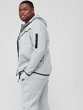 nike-plus-size-tech-fleece-full-zip-hoodie-dark-grey