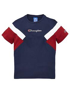 champion-crew-neck-colour-block-t-shirt-navy